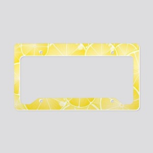 Lemons License Plate Holder