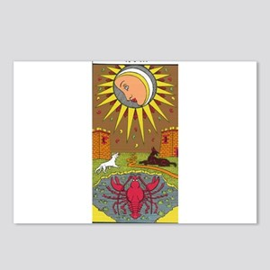 tarot card Postcards (Package of 8)