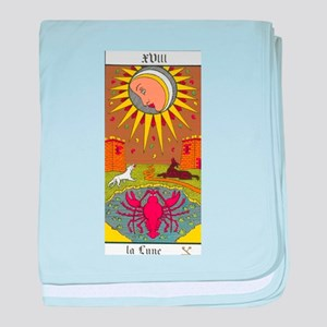 tarot card baby blanket