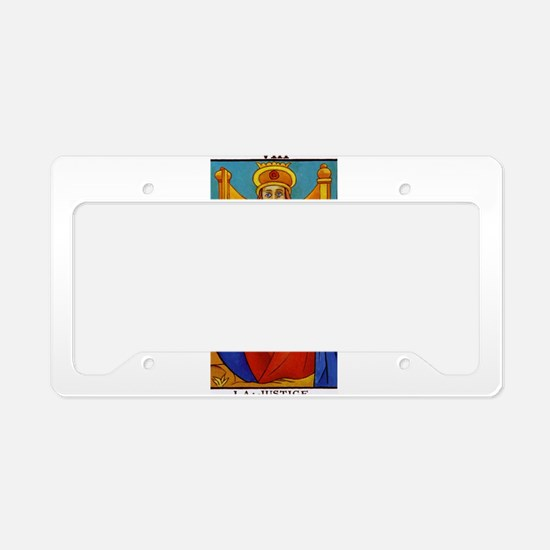 tarot card License Plate Holder