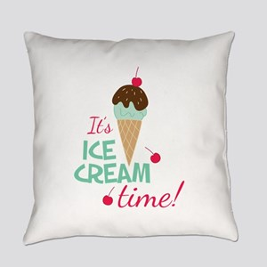 Ice Cream Time Everyday Pillow