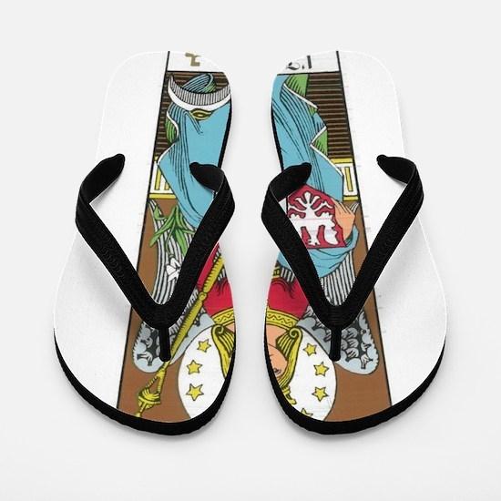 tarot card Flip Flops