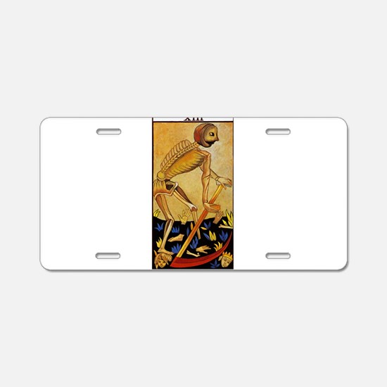tarot card Aluminum License Plate