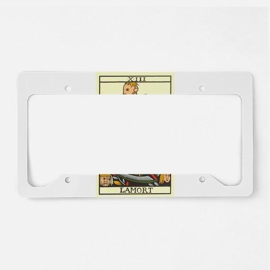 tarot card License Plate Holder