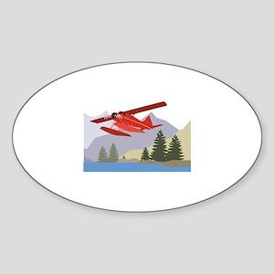 Alaska Plane Sticker