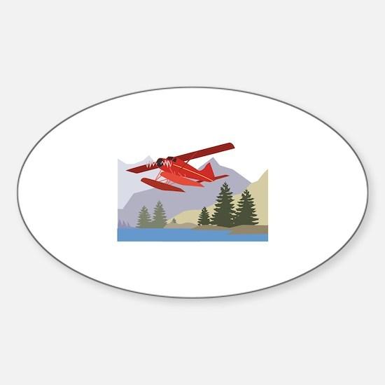 Alaska Plane Decal