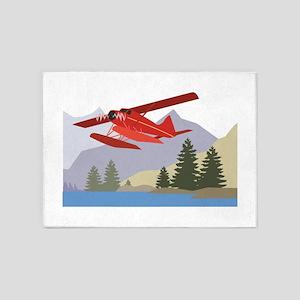 Alaska Plane 5'x7'Area Rug