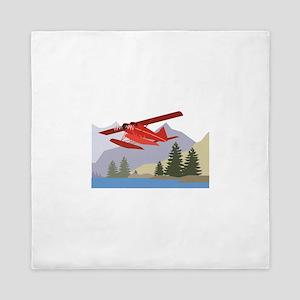 Alaska Plane Queen Duvet
