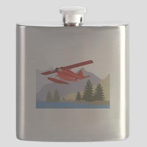 Alaska Plane Flask