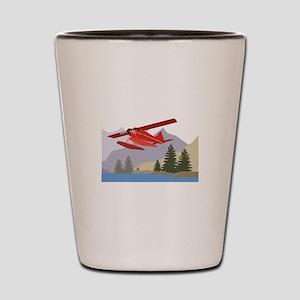 Alaska Plane Shot Glass