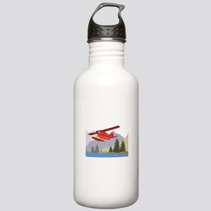 Alaska Plane Water Bottle