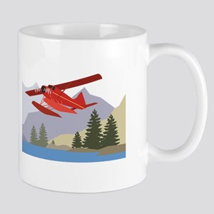 Alaska Plane Mugs