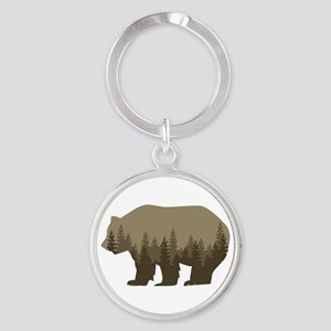 Grizzly Trees Keychains