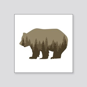 Grizzly Trees Sticker