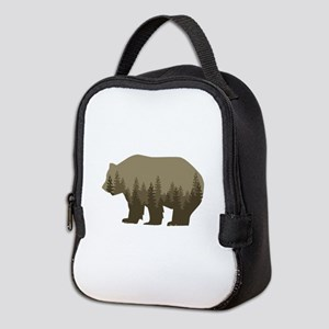 Grizzly Trees Neoprene Lunch Bag