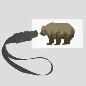 Grizzly Trees Luggage Tag