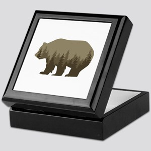Grizzly Trees Keepsake Box