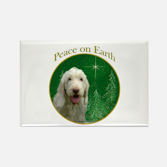 Spinone Peace Rectangle Magnet (10 pack)