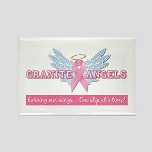 Granite Angels Rectangle Magnet