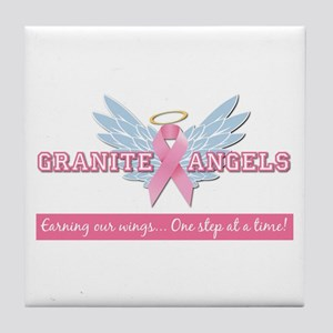 Granite Angels Tile Coaster