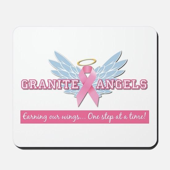 Granite Angels Mousepad