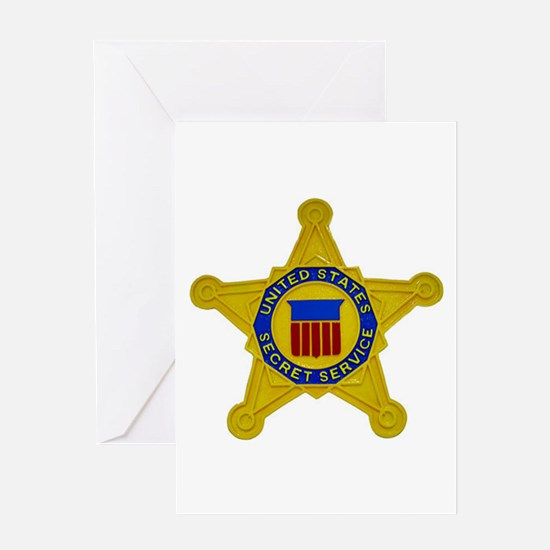 US FEDERAL AGENCY - SECRET SERVICE Greeting Cards