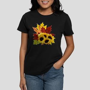 Fall Bouquet Women's Dark T-Shirt