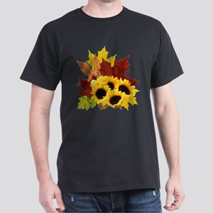 Fall Bouquet Dark T-Shirt