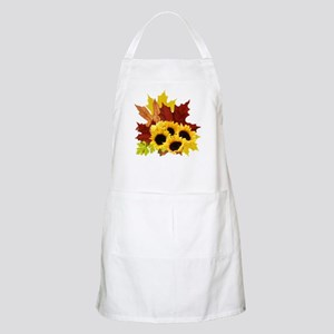 Fall Bouquet BBQ Apron