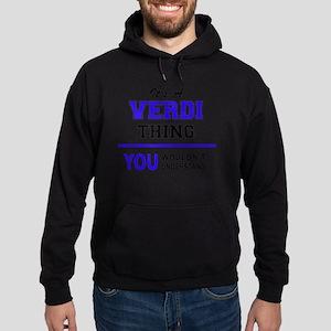 It's VERDI thing, you wouldn't under Hoodie (dark)