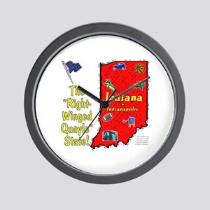 IN-Quayle! Wall Clock