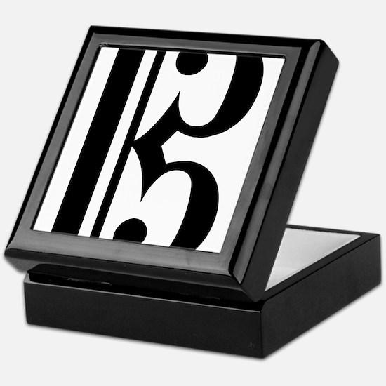 C Clef Keepsake Box