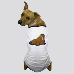 Walrus wild animal Dog T-Shirt