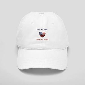 Personalized Patriotic Cap