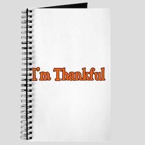 I'm Thankful Journal