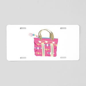 Tote Bag Aluminum License Plate