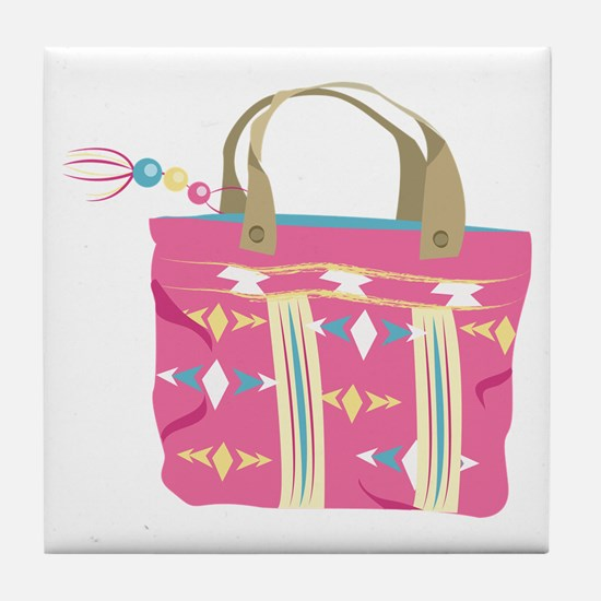 Tote Bag Tile Coaster