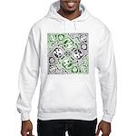 Celtic Puzzle Square Hooded Sweatshirt