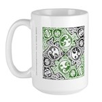 Celtic Puzzle Square Large Mug