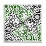 Celtic Puzzle Square Tile Coaster