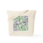 Celtic Puzzle Square Tote Bag