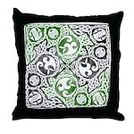 Celtic Puzzle Square Throw Pillow