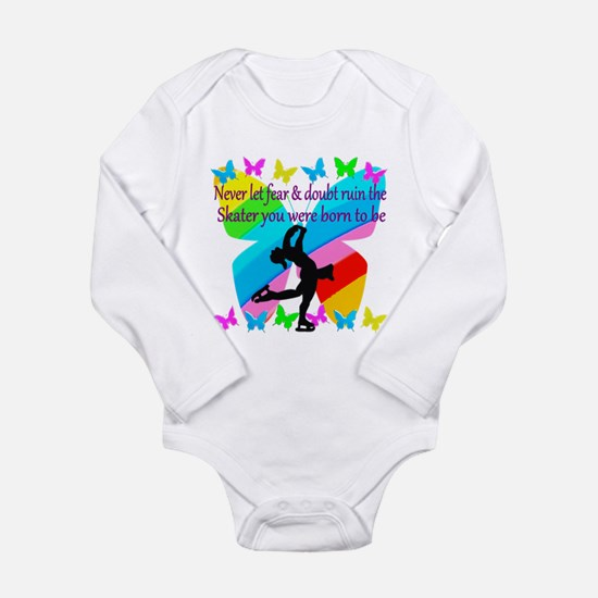 FIGURE SKATER Long Sleeve Infant Bodysuit