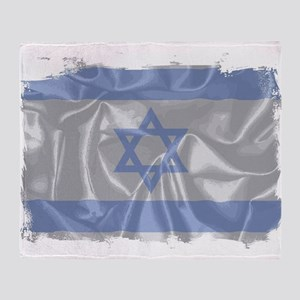 Israel Silk Flag Throw Blanket
