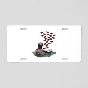 SWEET Aluminum License Plate