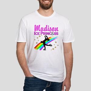 CUSTOM SKATER Fitted T-Shirt