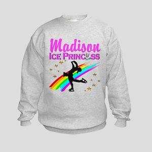 CUSTOM SKATER Kids Sweatshirt