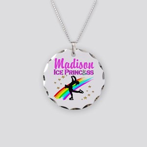 CUSTOM SKATER Necklace Circle Charm