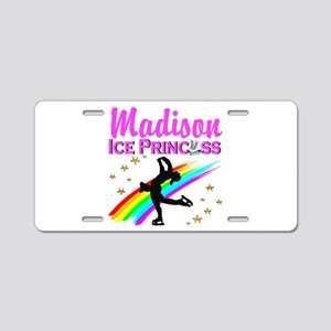 CUSTOM SKATER Aluminum License Plate