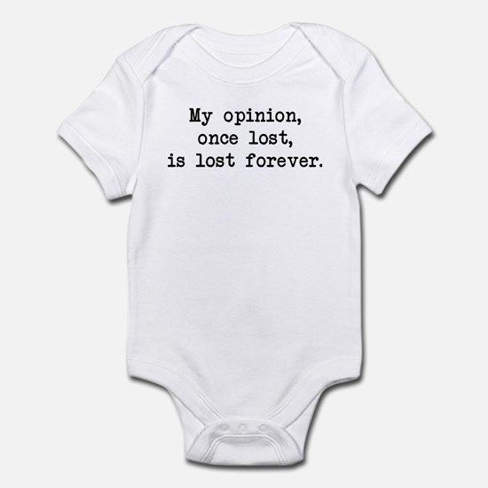 My Opinion - Mr. Darcy Infant Bodysuit